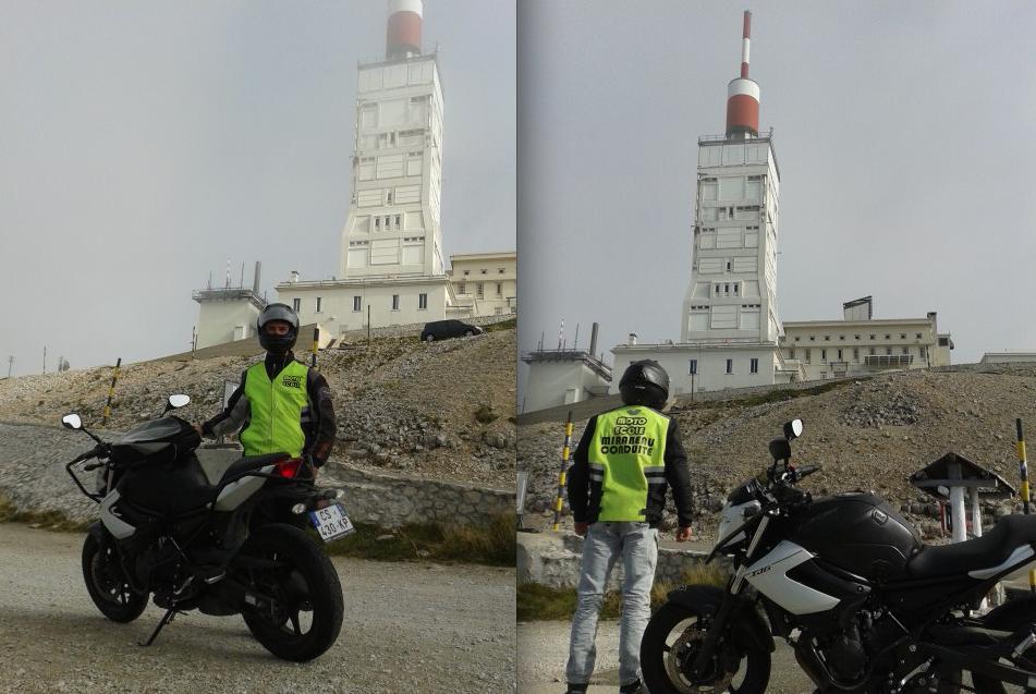 VENTOUX Voyage école en Moto