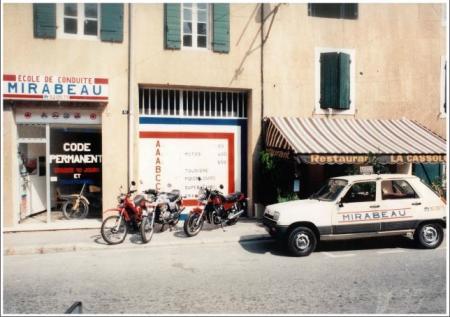 Mirabeau conduite depuis 1982