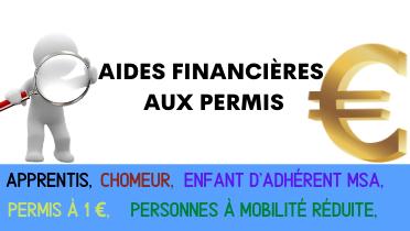 Aides financière