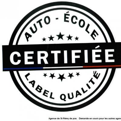 label qualité Mirabeau Conduite