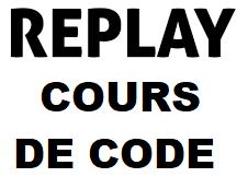 REPLAY CODE