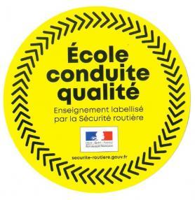 auto école label qualité Mirabeau Conduite