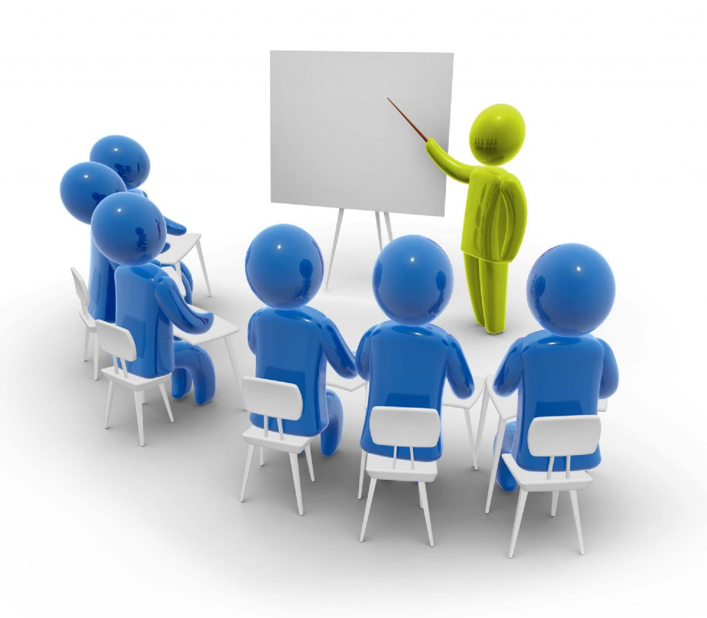 Des cours en salles dispensés pas des Enseignants de Sécurité Routière diplômés d'état.