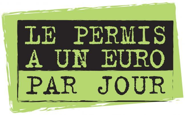 Permis 1 euro par jour chez Mirabeau Conduite