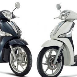 2 Scooters PIAGGIO Liberty ABS (Régul 125cm3)