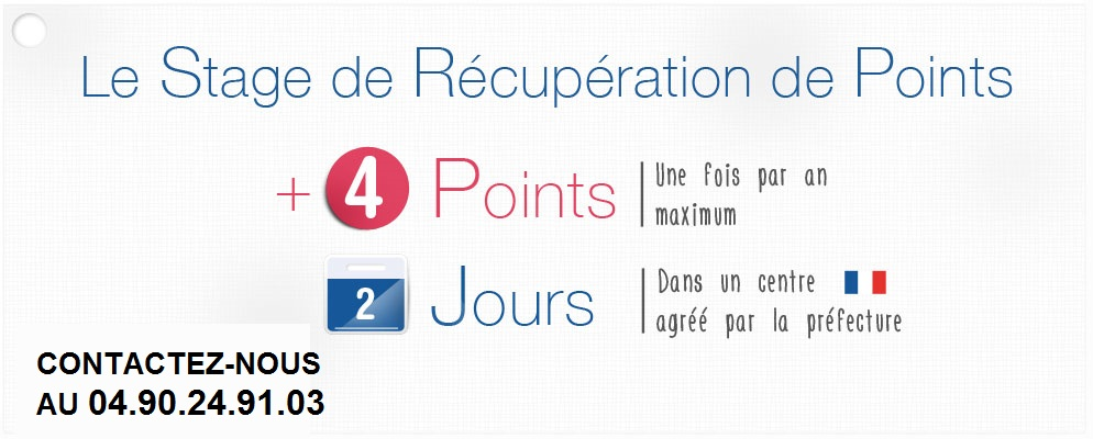 Stage POINTS CHATEAURENARD
